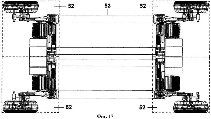 Коробчатый модуль подвески и содержащая его система параметрического шасси для транспортных средств