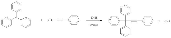 Способ получения 1,1,1,3-тетрафенилпропина