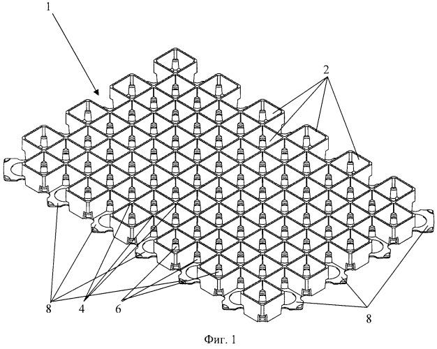 Панель газонной решетки