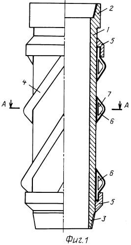 Центратор обсадной колонны с изменяемой геометрией