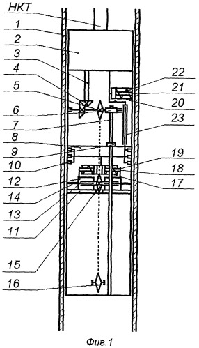 Устройство для щелевой перфорации обсаженной скважины
