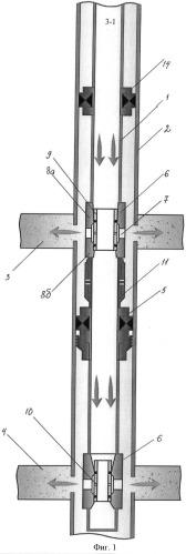 Установка для одновременно раздельной эксплуатации скважины и скважинная камера для нее
