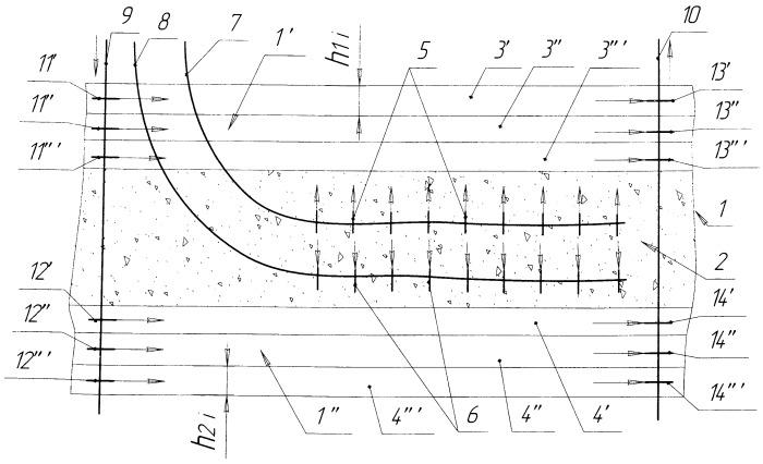 Способ разработки залежи сверхвязкой нефти в послойно-неоднородном коллекторе с частичной вертикальной сообщаемостью
