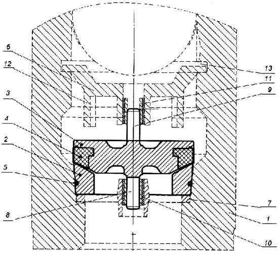 Клапан плунжерного насоса