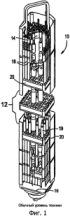 Конструкции топливного стержня, использующие внутреннюю распорную деталь, и способы их использования
