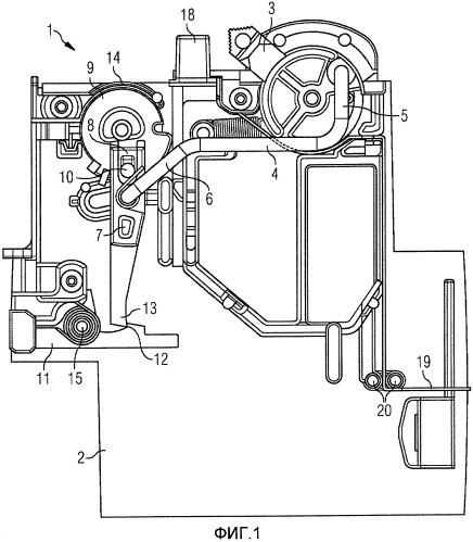 Механизм переключения устройства защиты от тока утечки, а также система с устройством защиты от тока утечки и линейным защитным автоматом