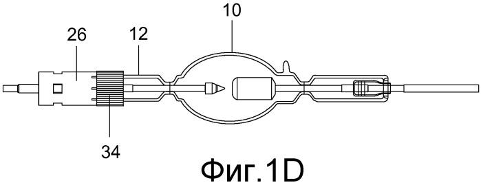 Способ монтажа цоколя для газоразрядной лампы и газоразрядная лампа