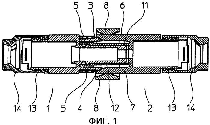 Электрический штекерный соединитель