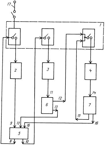 Электрическая схема питания светодиодного светильника
