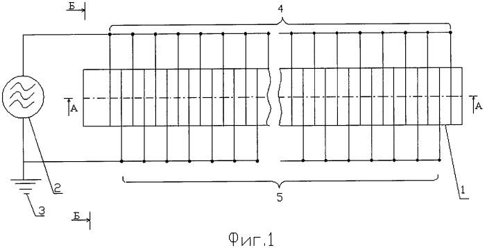 Устройство для получения высокочастотного емкостного газового разряда
