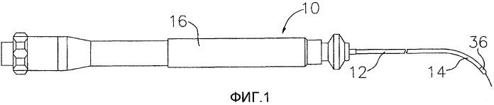 Ручка управления с механизмом подачи устройства