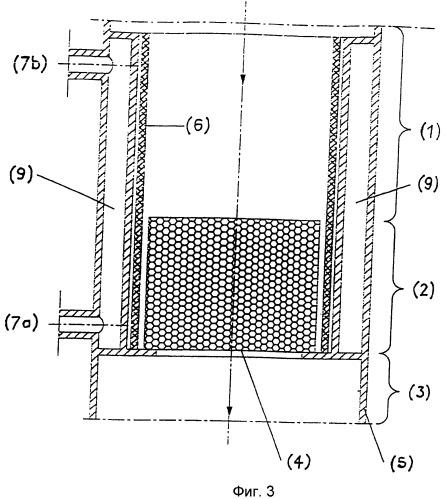 Устройство и способ для каталитических газофазных реакций, а также их применение