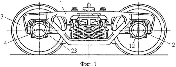 Способ контроля теплового состояния буксы грузового железнодорожного вагона