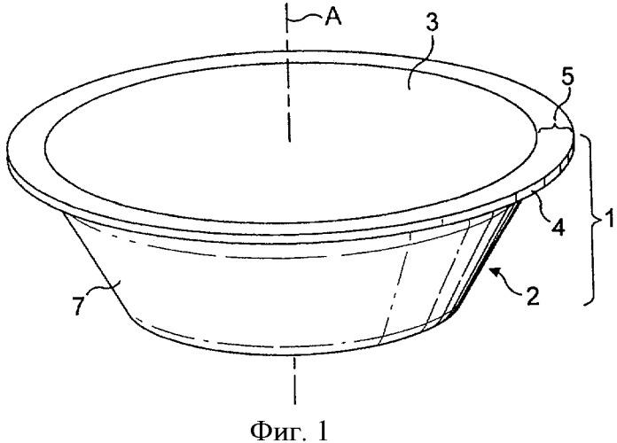 Капсула и способ приготовления пищевой жидкости с помощью центрифугирования