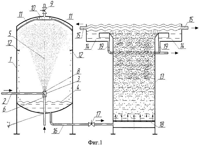 Устройство для очистки нефтесодержащих и сточных вод