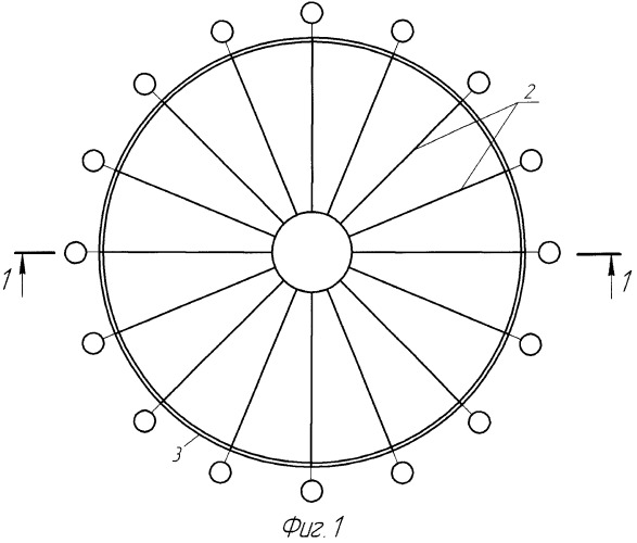 Способ монтажа ребристого купола