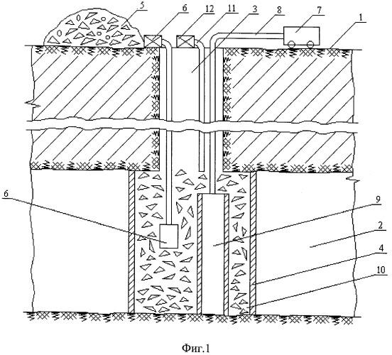 Способ возведения искусственных тумбообразных целиков в россыпных шахтах криолитозоны