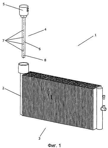 Клапанный узел с встроенным коллектором