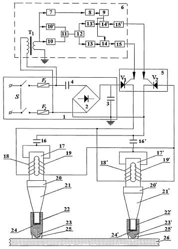 Волновое устройство для удаления солей с поверхностей нефтегазового теплообменного оборудования