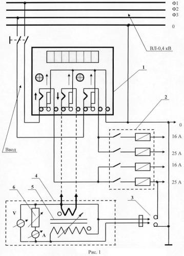 Устройство для проверки чувствительности трехфазных цифровых приборов учета электроэнергии