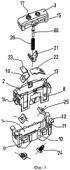 Механизм выключателя для утопленных электротехнических устройств