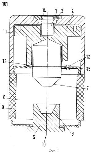 Средневольтное распределительное устройство с системой короткого замыкания