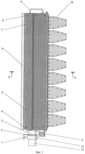 Активная передающая фазированная антенная решетка