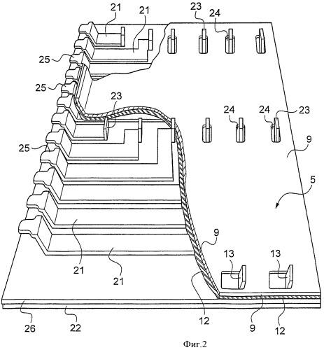 Модульная электрическая плата для силовых компонентов