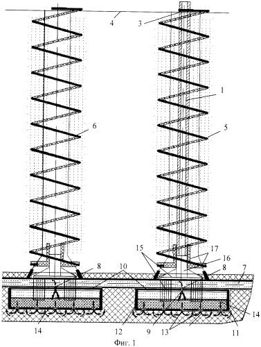 Способ формирования вертикально ориентированных овощных культур с капельным орошением из закрытого грунта (вариант русской логики - версия 1)