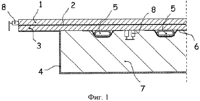 Устройство охлаждения поверхности и способ охлаждения поверхности
