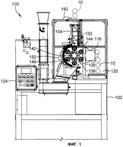 Распылительное устройство с двойным сервоприводом и способ нанесения покрытия методом распыления