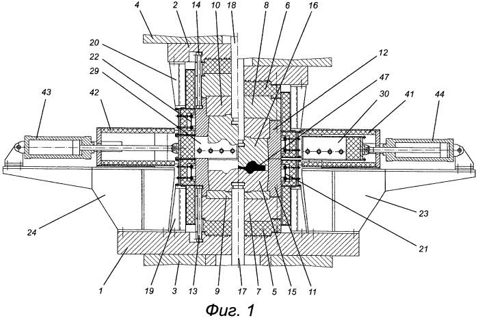 Штамповый блок для изотермического деформирования