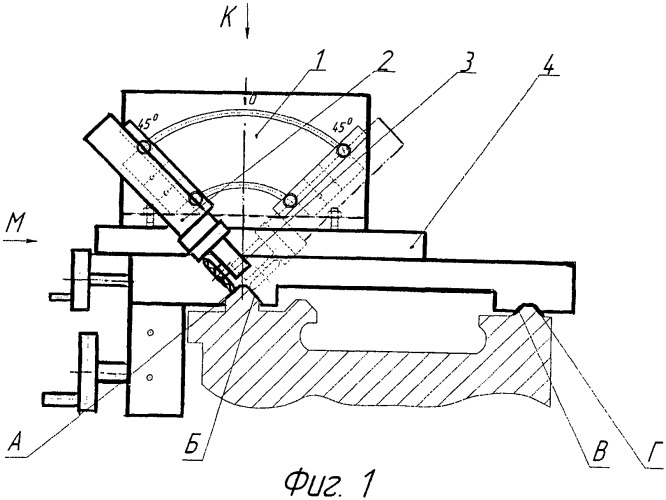 Устройство для электромеханического упрочнения направляющих станины токарного станка