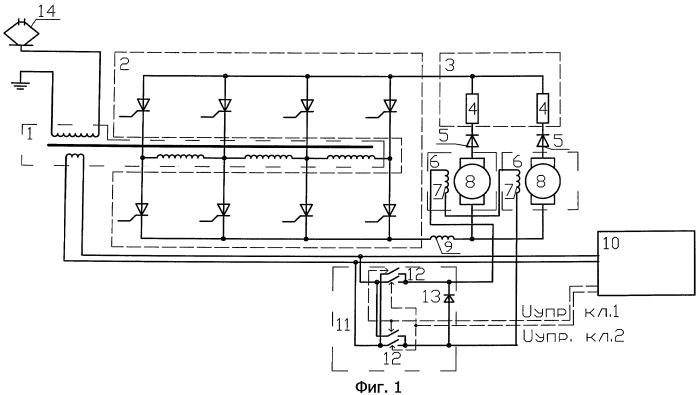 Способ повышения коэффициента мощности при рекуперативном торможении электровоза переменного тока и устройство для его реализации