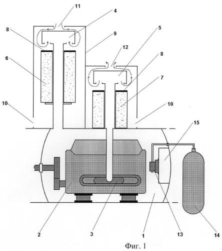 Устройство рдп для носителя водолазов