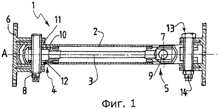 Соединительное устройство для соединения первого и второго элементов, шарнирно поворотных относительно друг друга