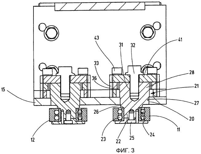 Направляющее роликовое устройство для кранов