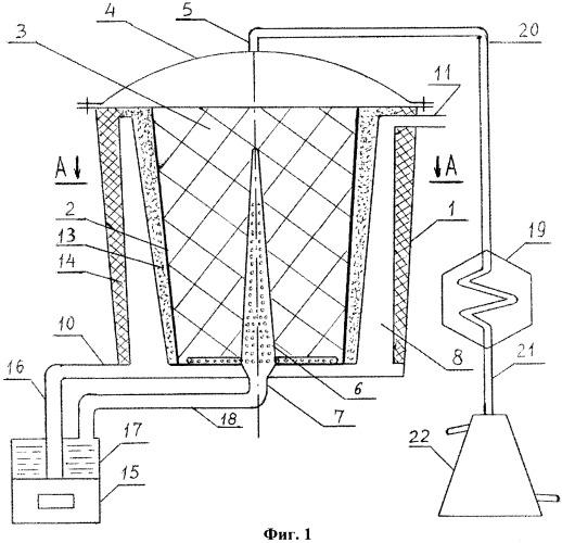 Аппарат для паровой отгонки эфирного масла