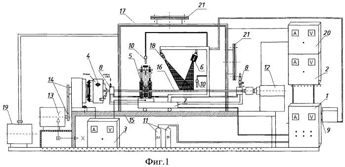 Установка для получения наноструктурированных покрытий из материала с эффектом памяти формы на цилиндрической поверхности деталей