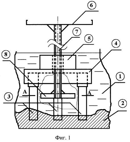 Устройство гидродинамического гасителя колебаний мостового пролета