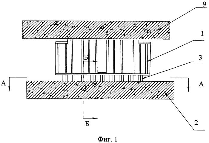 Устройство для опускания пролетного строения моста на постоянные опорные части