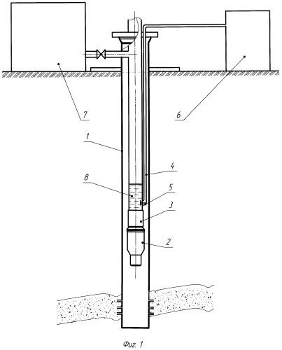 Способ промывки скважинного погружного электроцентробежного насоса реагентом
