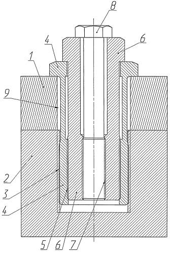Способ затяжки высоконагруженного резьбового соединения