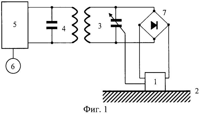Устройство для измерения температуры поверхности, находящейся под электрическим напряжением