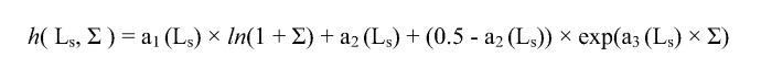 Определение пористости из длины замедления тепловых нейтронов, сечения захвата тепловых нейтронов и объемной плотности пласта