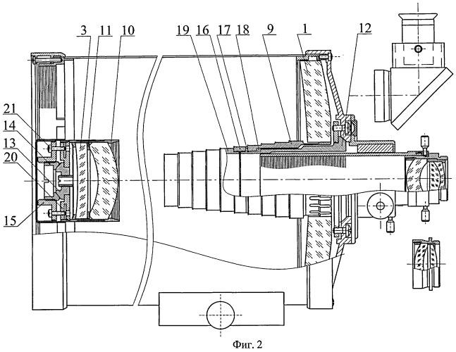 Устройство катадиоптрического телескопа