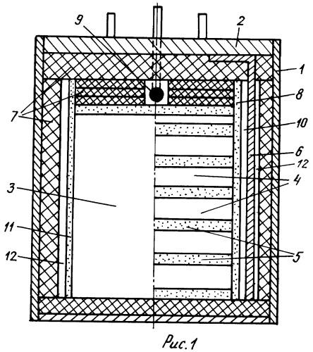 Тепловой литиевый источник тока