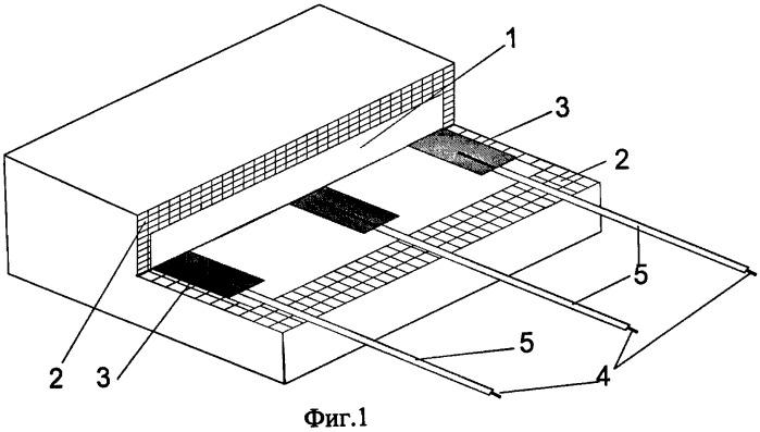 Способ изготовления многоэлектродного композиционного электрообогревателя