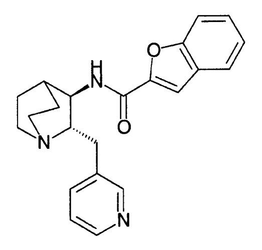 (2s,3r)-n-(2-((3-пиридинил)метил)-1-азабицикло[2.2.2]окт-3-ил)бензофуран-2-карбоксамид, новые солевые формы и способы их применения