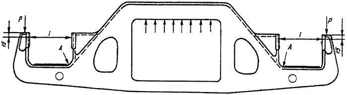 Способ упрочнения боковых рам тележек грузовых вагонов во внутренних углах буксовых проемов